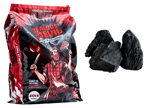 20 LB – ALL NATURAL HARDWOOD CHARCOAL