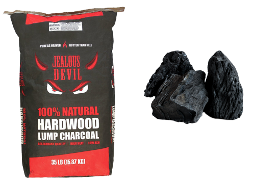 35 LB – ALL NATURAL HARDWOOD CHARCOAL