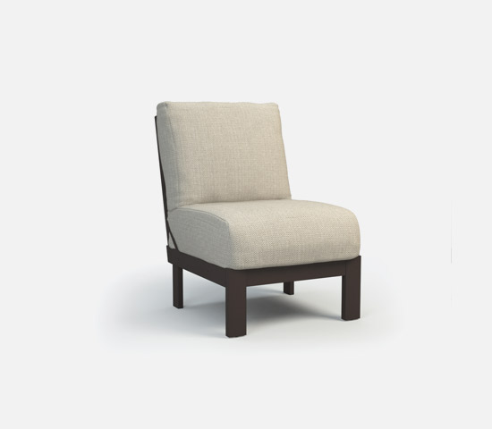Armless Chat Chair