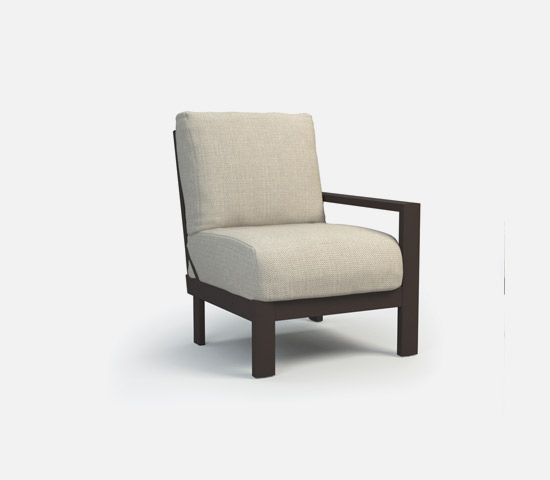 Left Arm Chat Chair